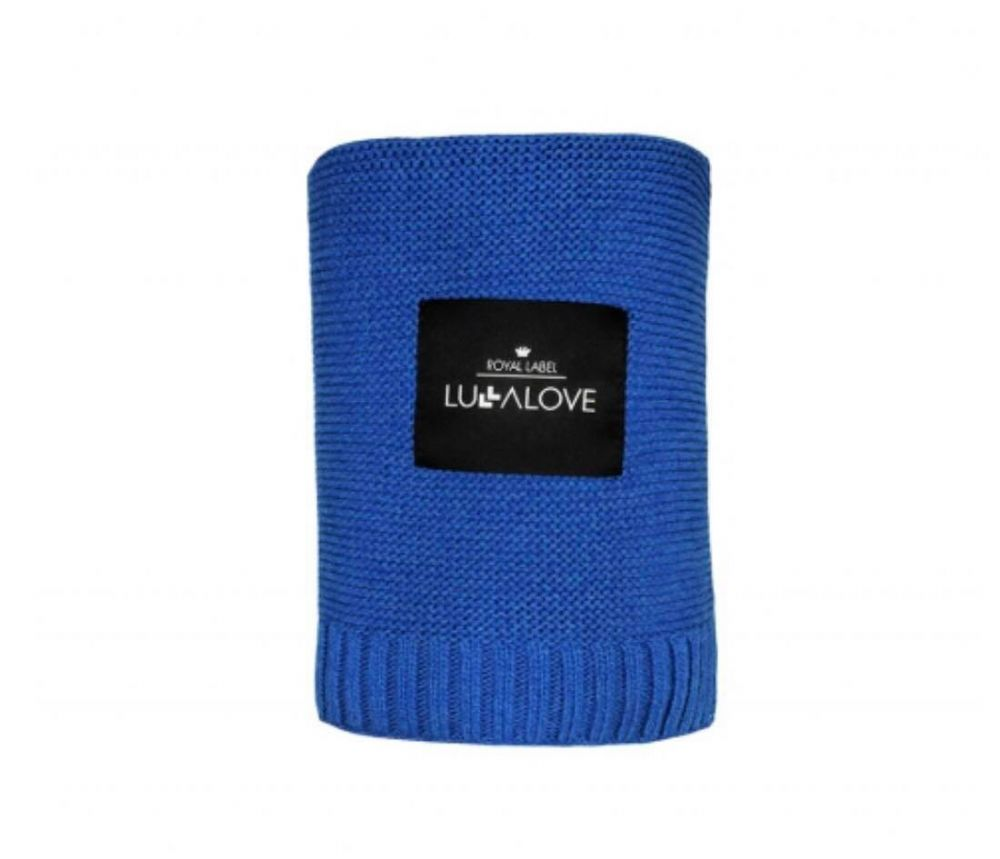 Lullalove BAMBOO BLANKET 80x100 (royal blue)
